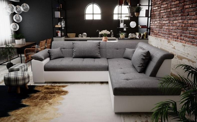 canapé d'angle aménagement